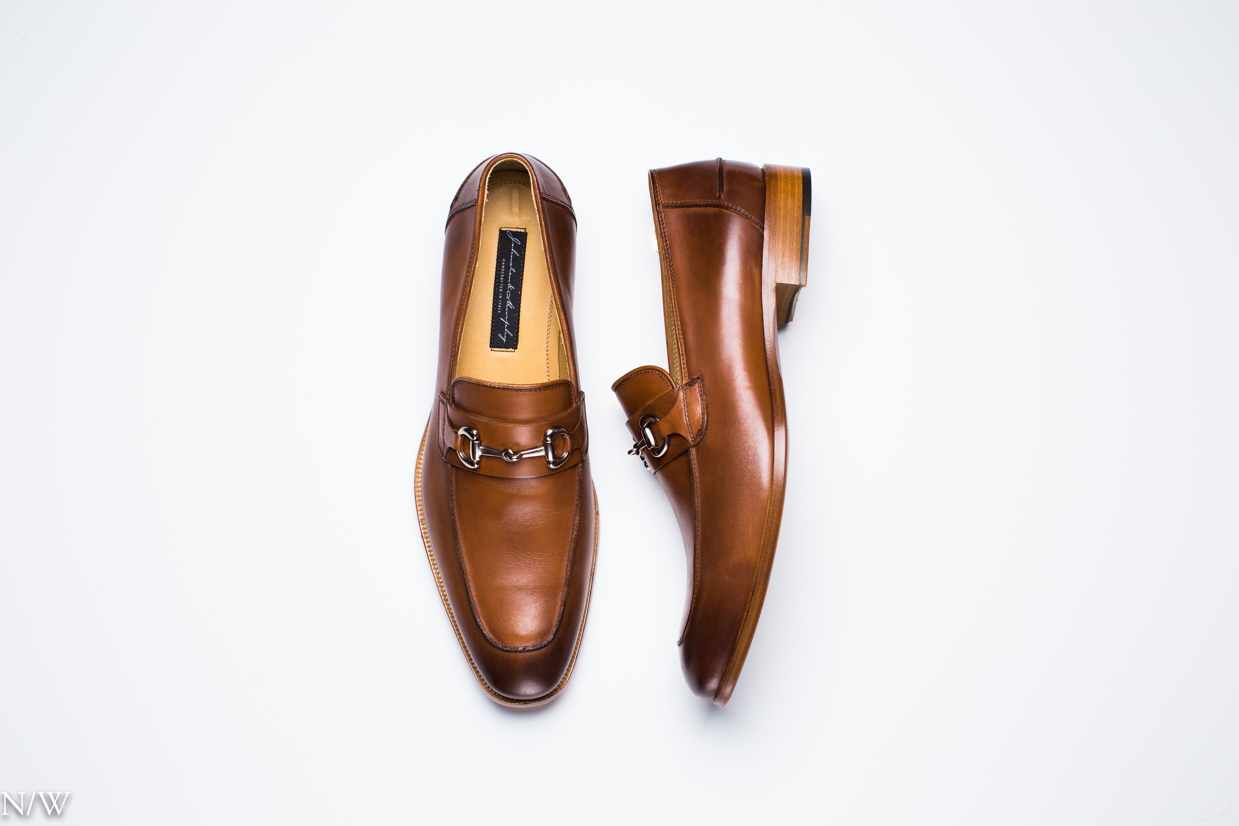 """Cates-Bit"" in Brown by Johnston & Murphy, made in Italy. Photo: Noah Williams Media."
