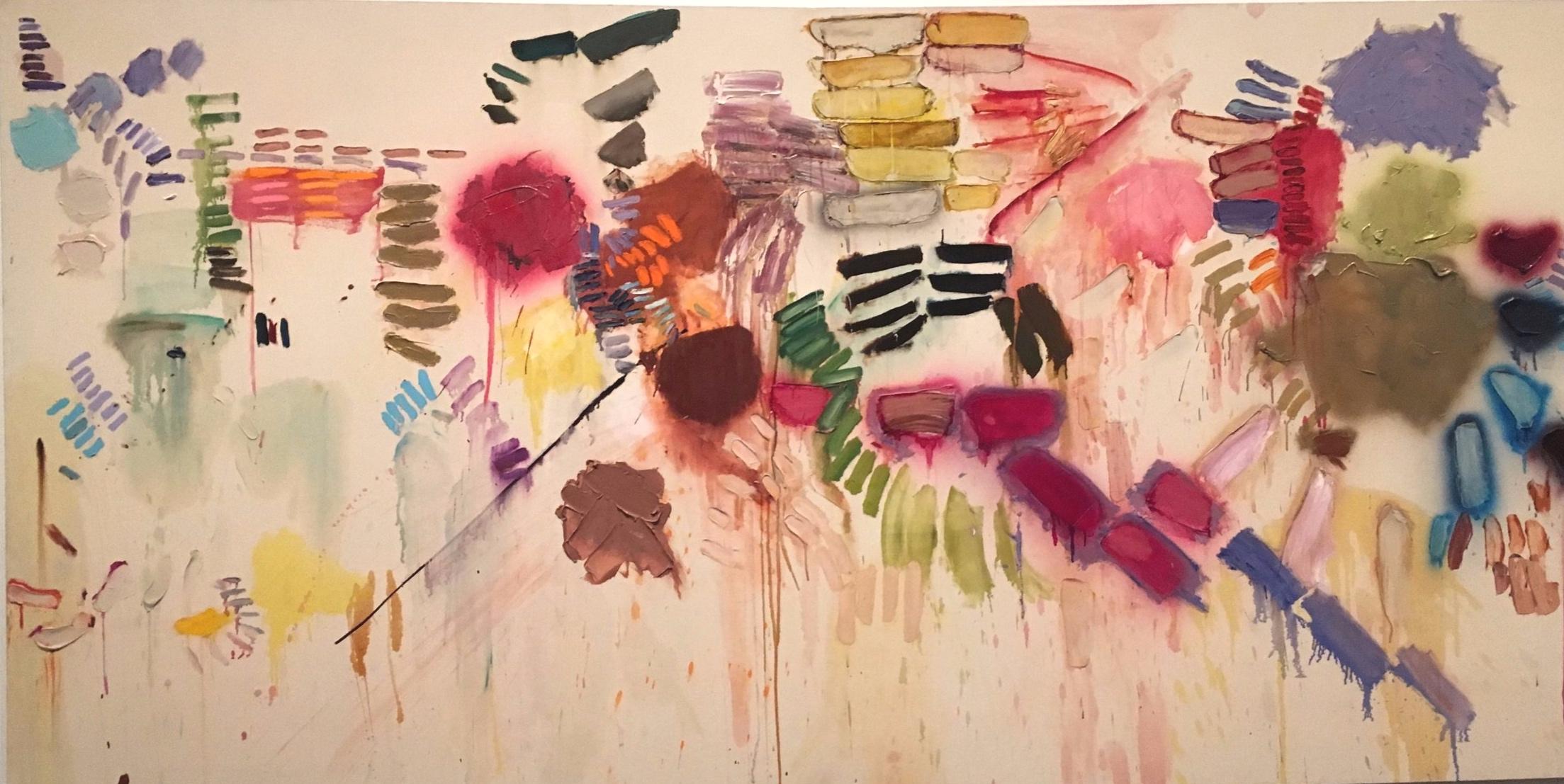 Joan Snyder, 'Smashed Strokes Hopes', 1971.
