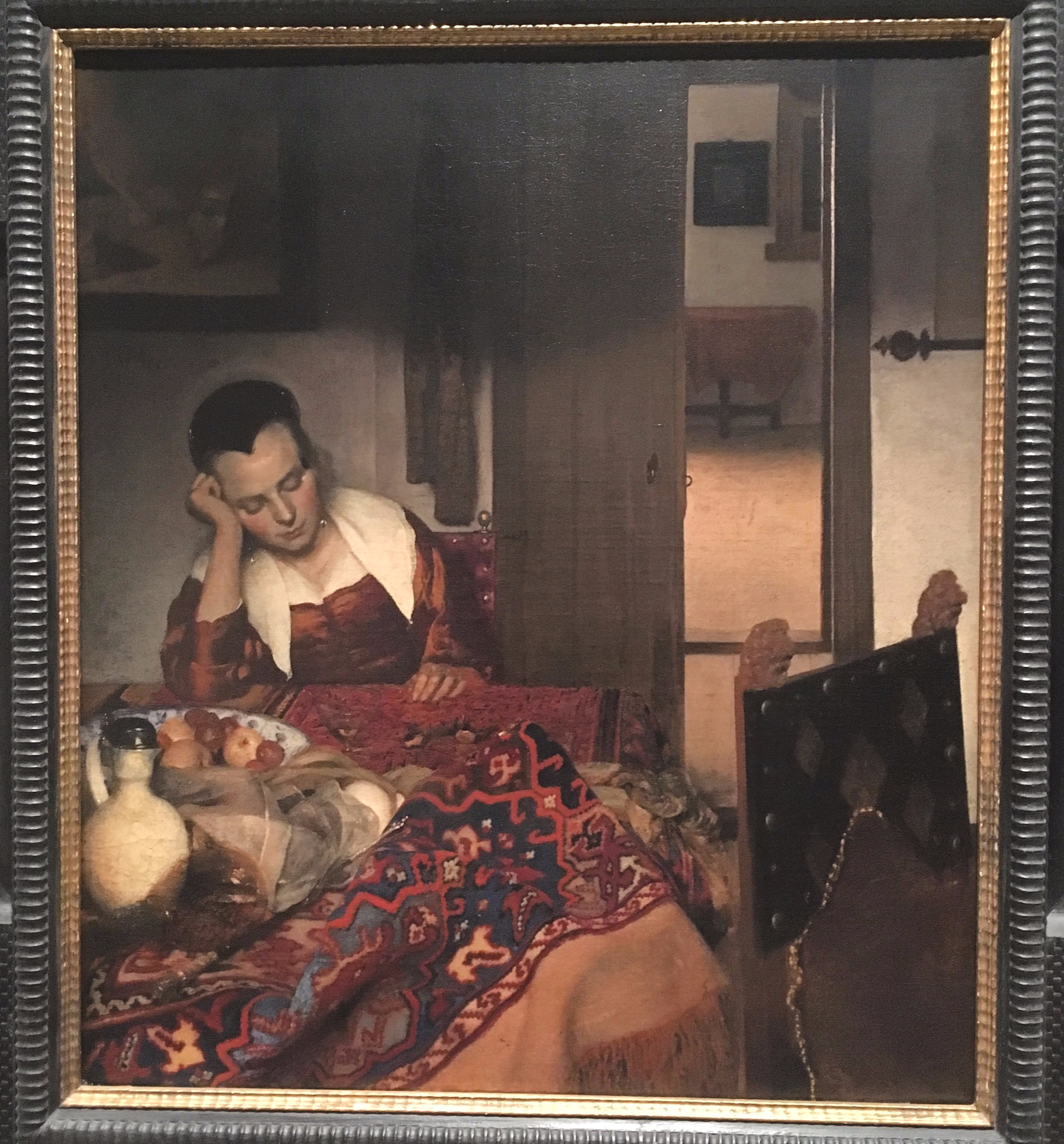 Johannes Vermeer, 'A Maid Asleep', circa 1656-57.