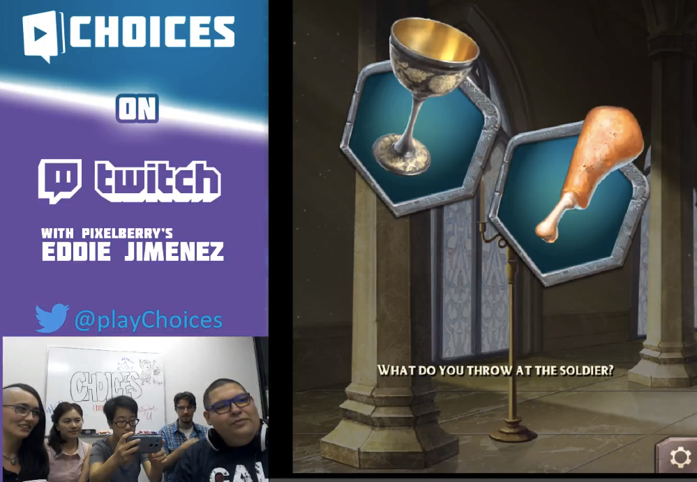 #TBT to our very first Choices livestream, hosted by QA team member Eddie! Anyone remember this livestream?