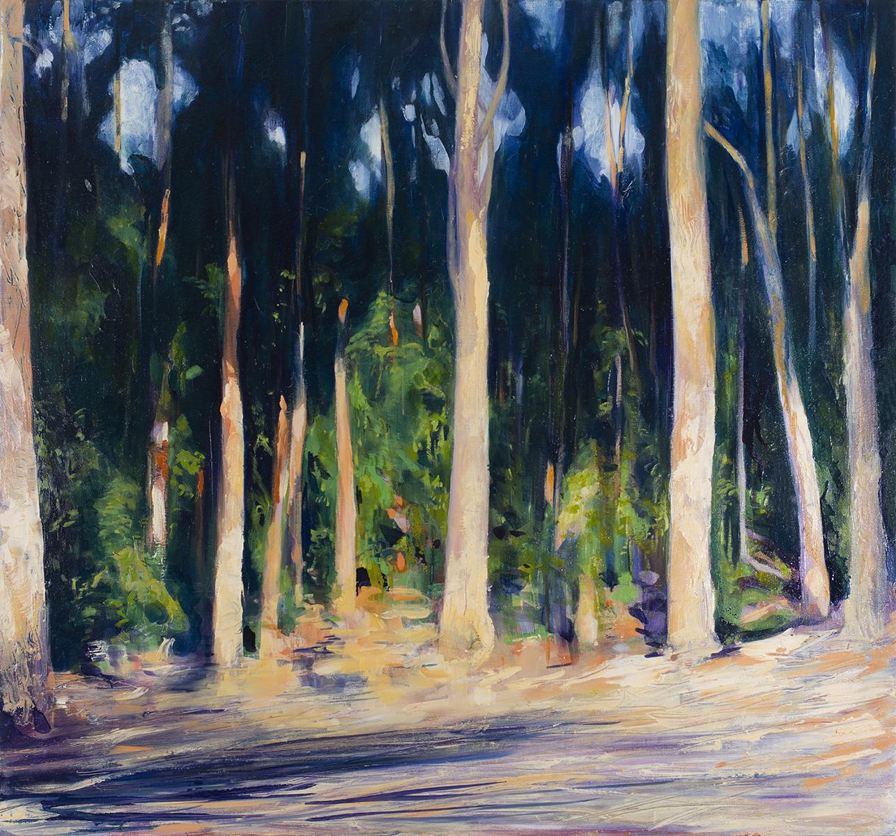 Amanda van Gils In amongst the trees, it's easier to breathe_ oil on linen-76x82cm_.jpg