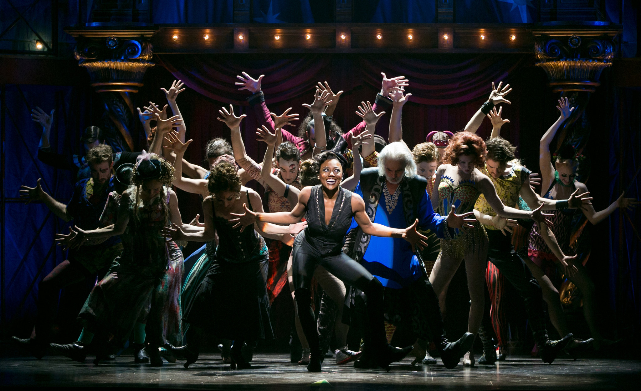 Patina Miller and the Players of  Pippin
