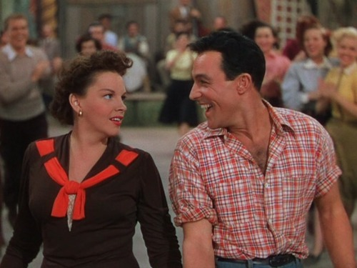 Judy Garland and Gene Kelly