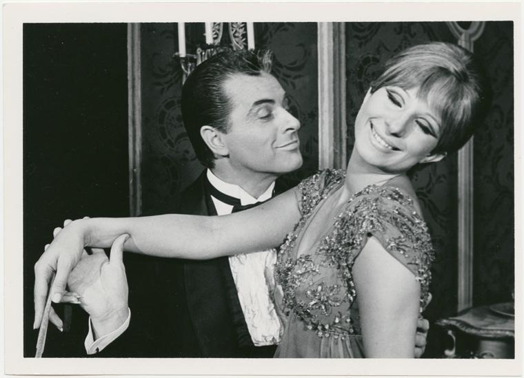 Sydney Chaplin and Barbra Streisand in  Funny Girl .