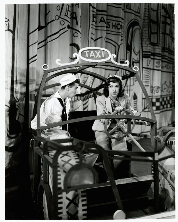 Chip Alexander and Nancy Walker in  On The Town