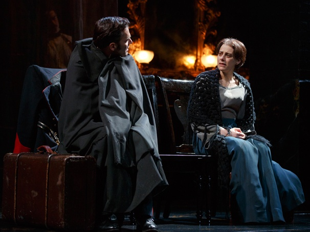 Ryan Silverman and Judy Kuhn in  Passion