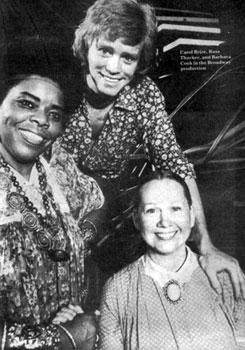 Carol Brice, Russ Thacker and Barbara Cook