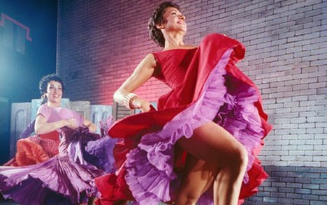 Chita in  West Side Story.