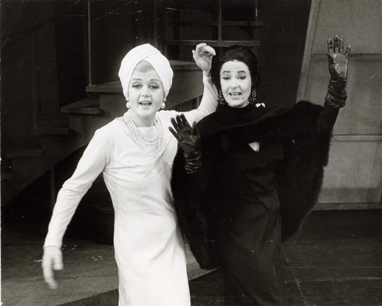 "Angela Lansbury and Beatrice Arthur sing ""Bosom Buddies"" in  Mame ."