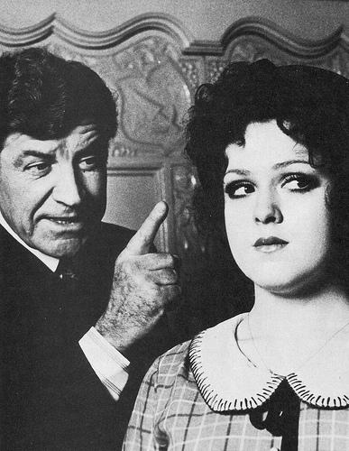Robert Preston and Bernadette Peters in  Mack and Mabel .
