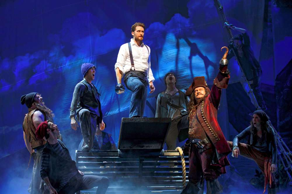 Matthew Morrison, Kelsey Grammer and the cast of  Finding Neverland .