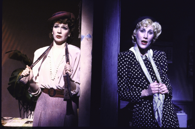 """Kay McClelland and Randy Graff sing """"What You Don't Know About Women"""" in  City of Angels ."""