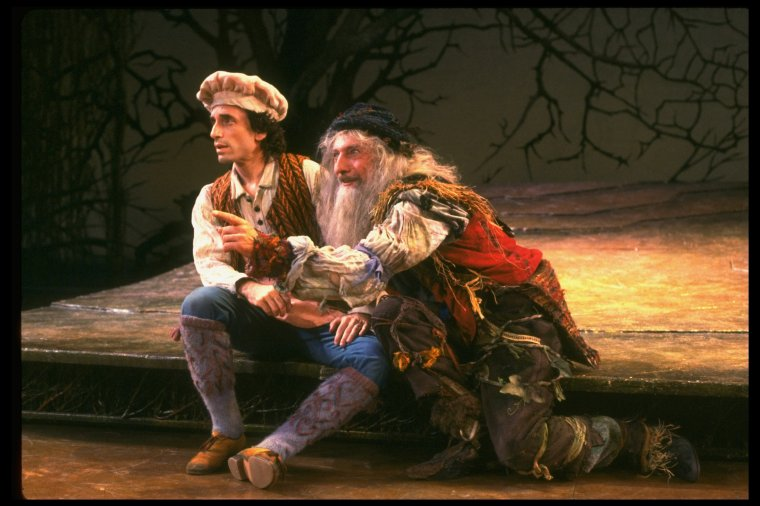 Chip Zein and Tom Alderedge in  Into The Woods .