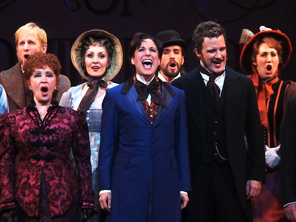 Chita Rivera, Stephanie J. Block and Will Chase led an all-star cast in the 2013 revival of  The Mystery of Edwin Drood .