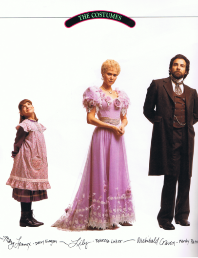 Daisy Eagan, Rebecca Luker and Mandy Patinkin portraits for  The Secret Garden .