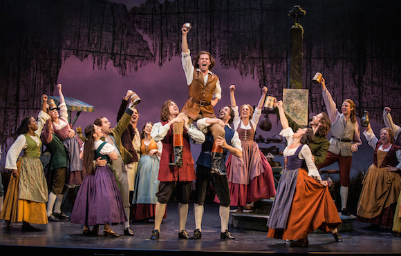 The cast of the recent  Brigadoon  revival at the Goodman Theatre, Chicago.