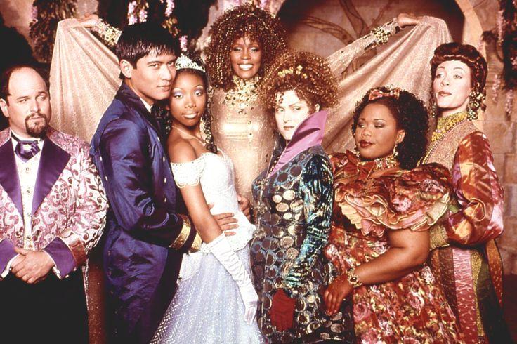 Jason Alexander, Paolo  Montalban, Brandy, Whitney Houston, Bernadette Peters,Natalie Desselle-Reid and Veanne Cox in  Cinderella .