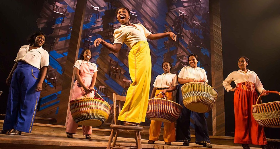 "Cynthia Erivo leads ""Miss Celie's Pants"" in  The Color Purple ."