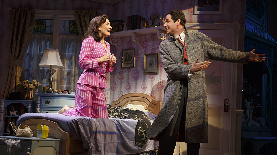 Laura Benanti and Zachary Levi in  She Loves Me .