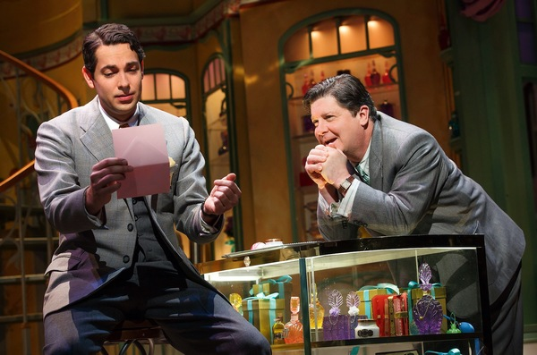 Zachary Levi and Michael McGrath in  She Loves Me .