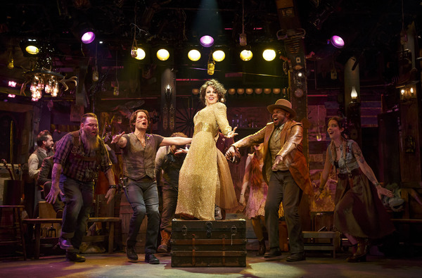 Leslie Kritzer and company in  The Robber Bridegroom .