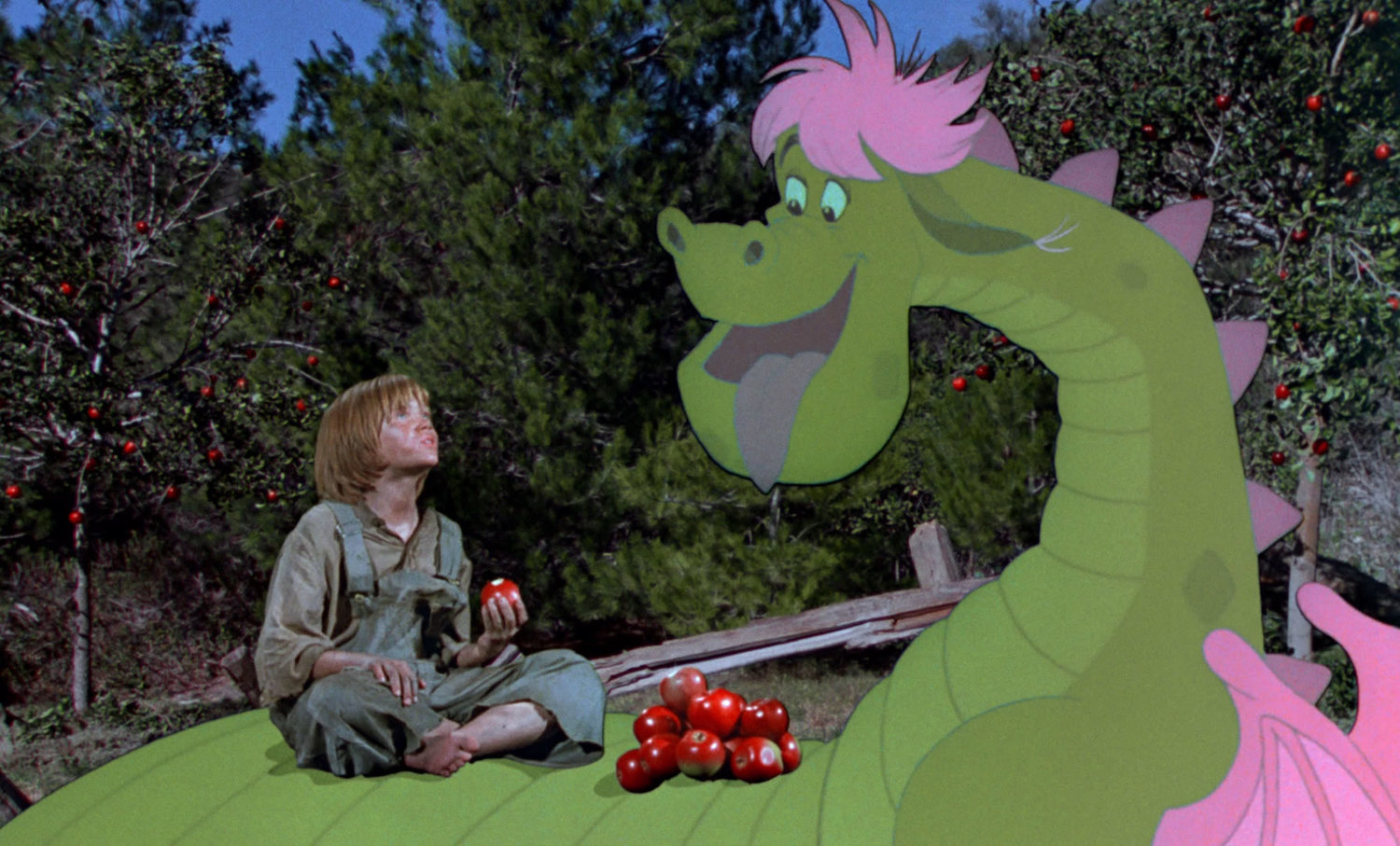 Sean Marshall  in  Pete's Dragon .