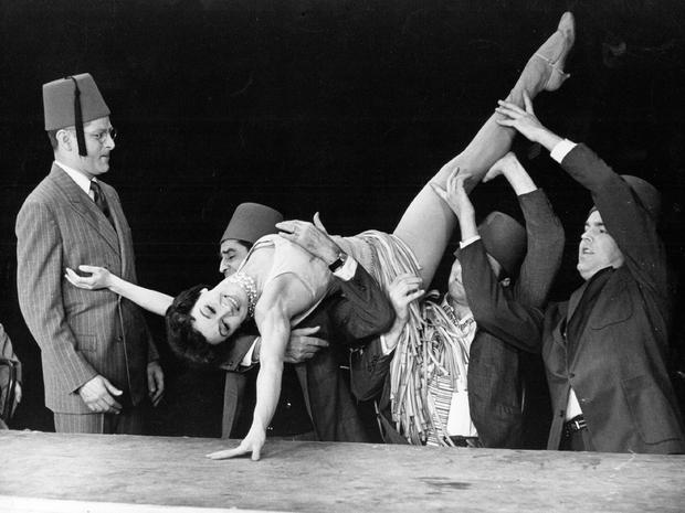 "Chita Rivera performs ""The Shriner's Ballet"" in  Bye Bye Birdie ."