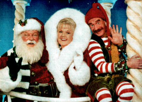 Charles Durning, Angela Lansbury and Michael Jeter in  Mrs. Santa Claus .