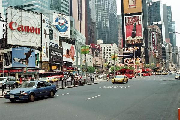 Times Square, 1990