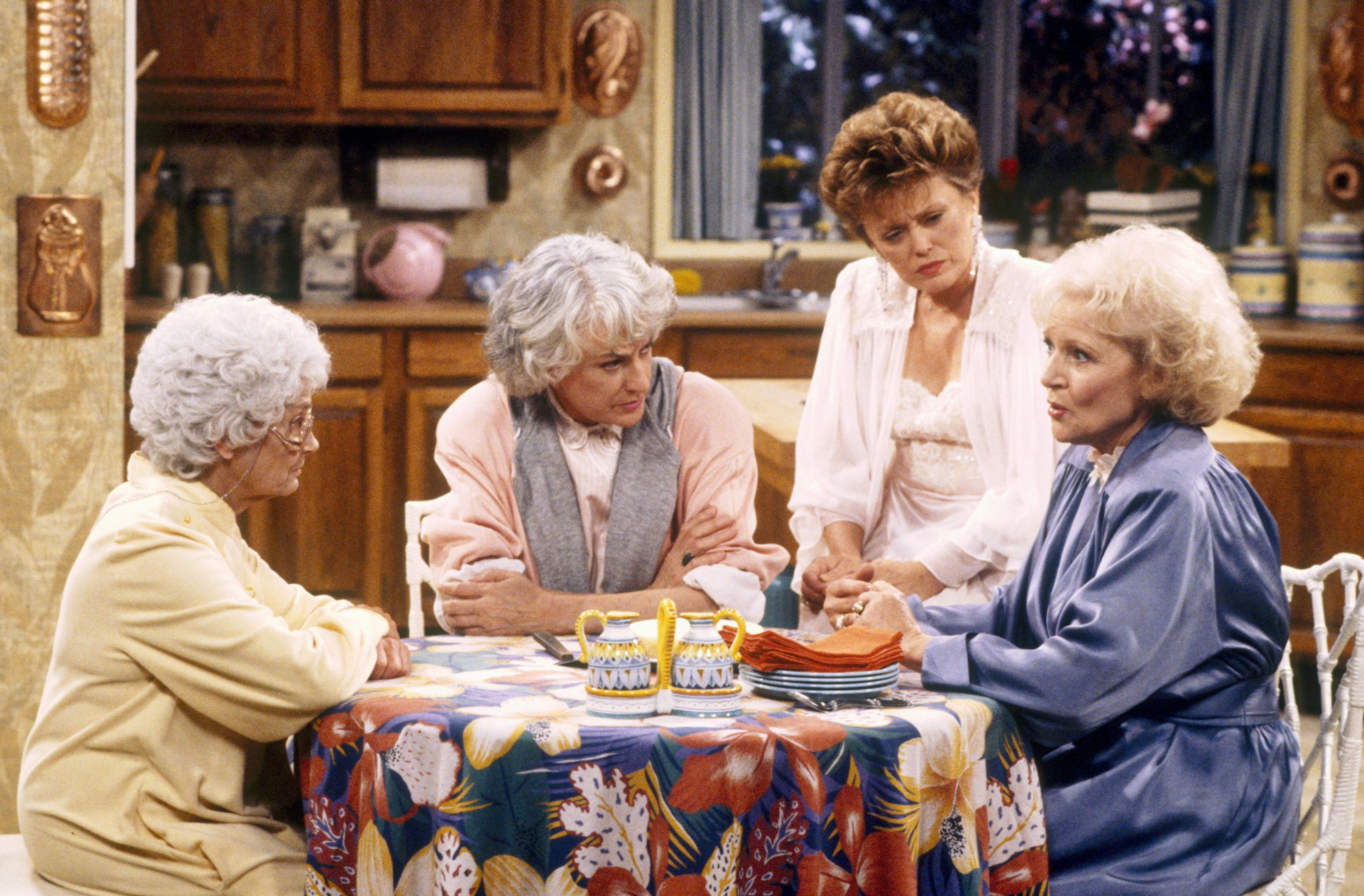 Estelle Getty, Beatrice Arthur, Rue McClanahan and Betty White