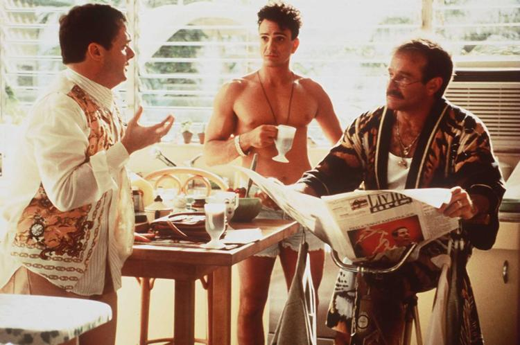 Nathan Lane, Hank Azaria and Robin Williams in  The Birdcage