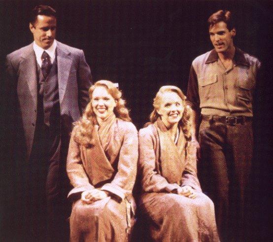 Jeff McCarthy, Emily Skinner, Alice Ripley and Hugh Panaro in Side Show