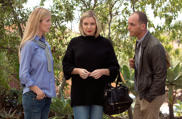 Brooklyn Decker, June Diane Raphael and Ethan Embry