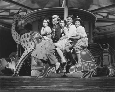 Tillie Losch, Fred and Adele Astaire, Frank Morgan and Helen Broderick in  The Bandwagon