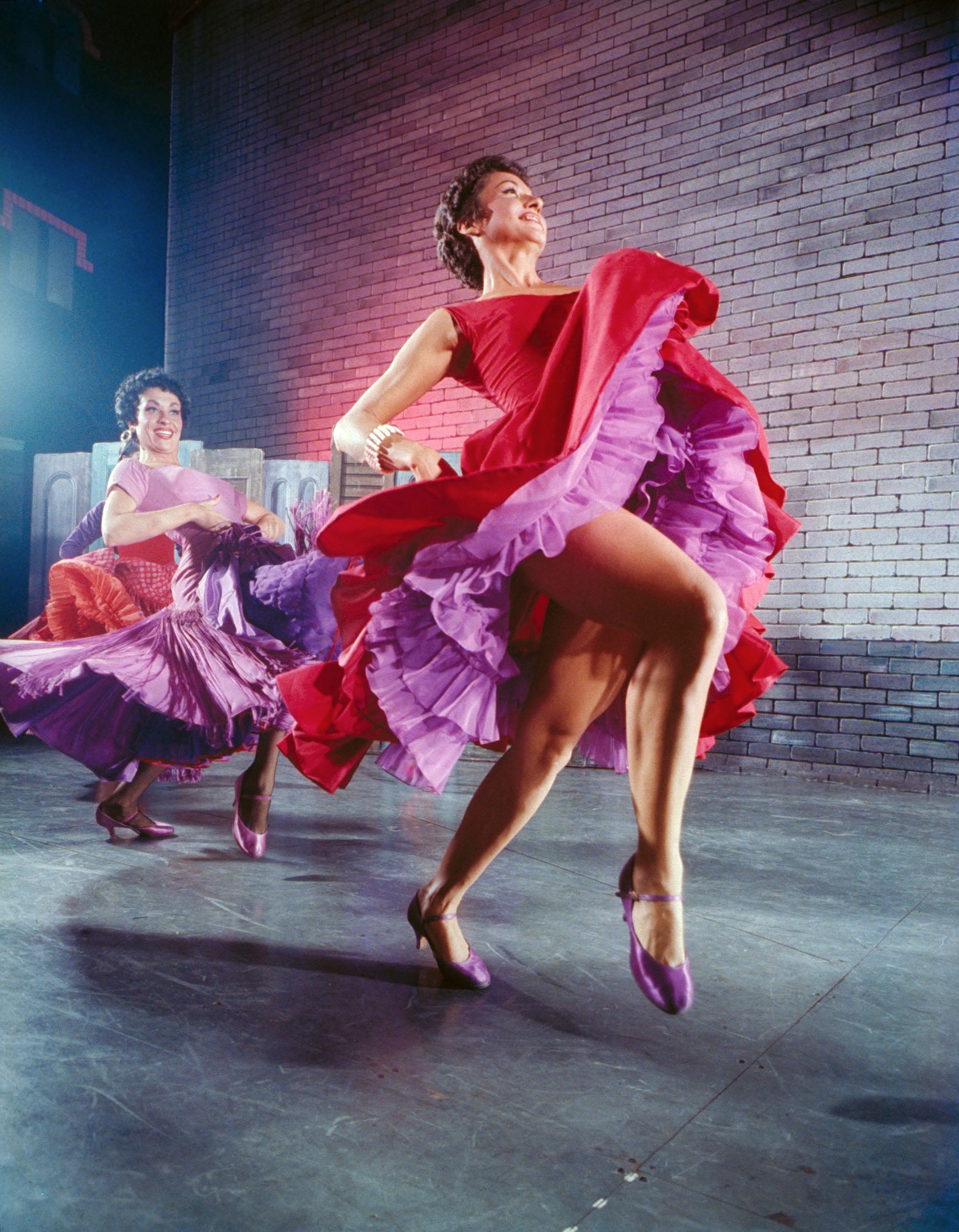 Liane Plane and Chita Rivera
