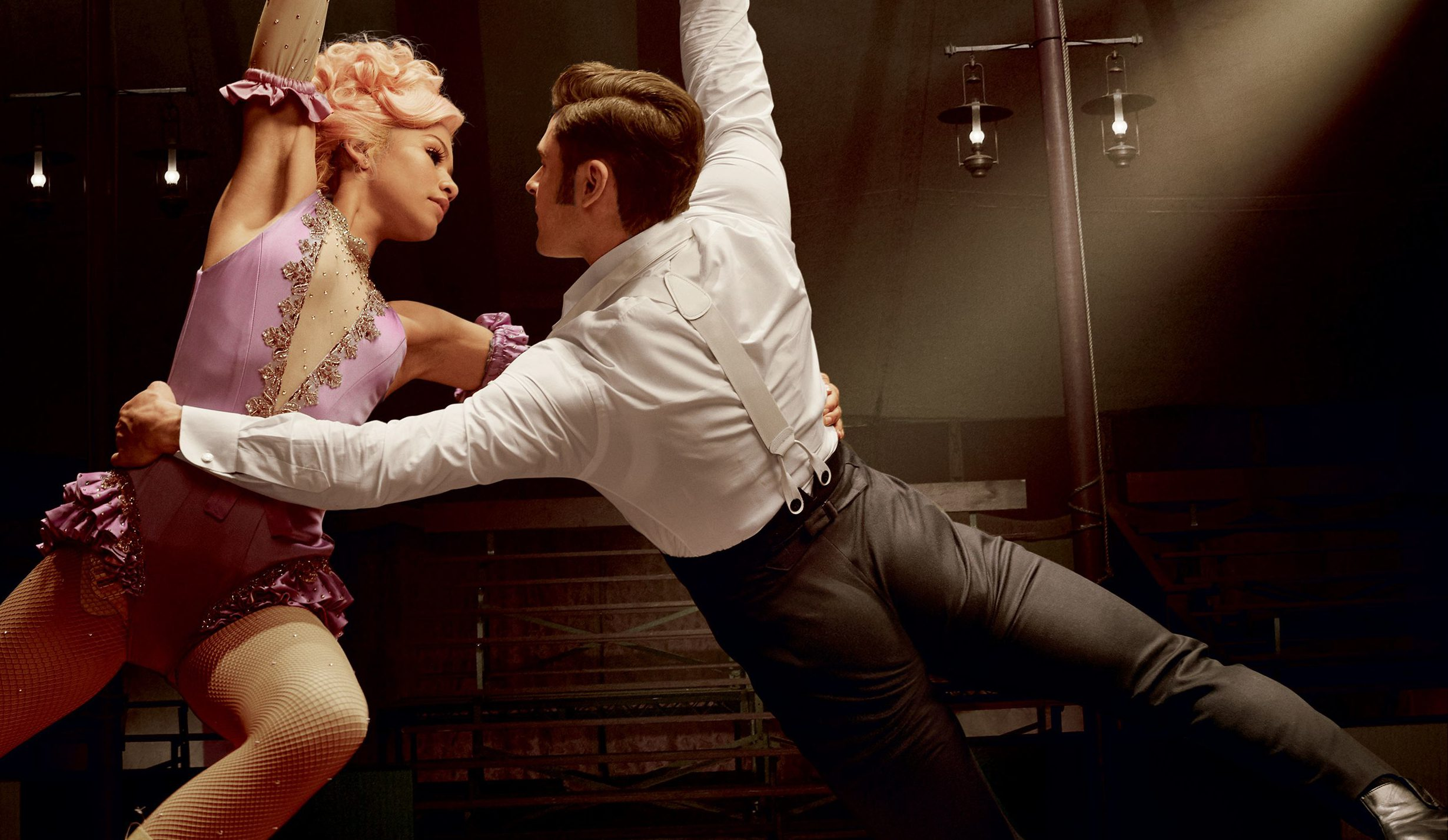 Zendaya and Zac Efron in  The Greatest Showman