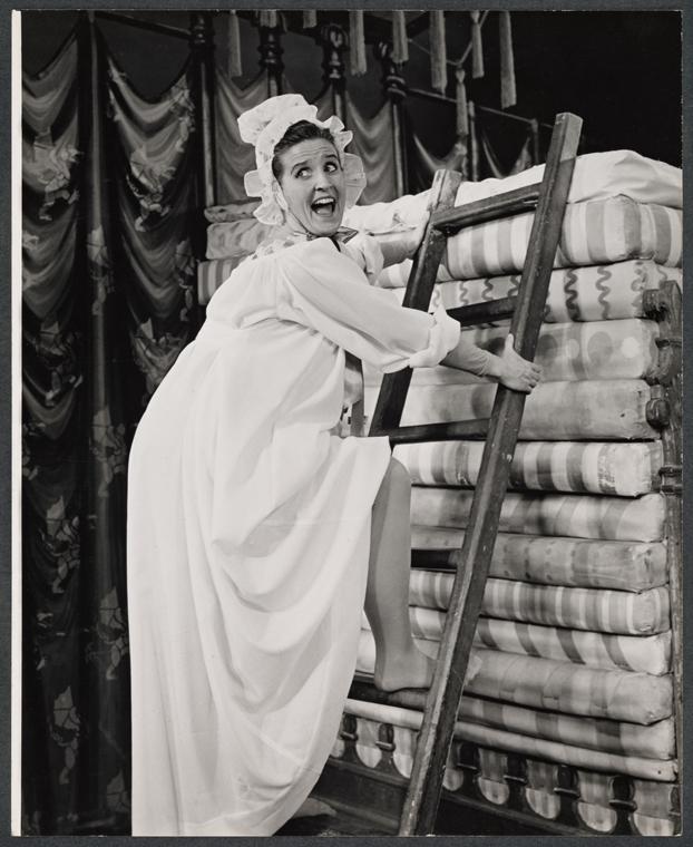 Ann B. Davis in  Once Upon a Mattress