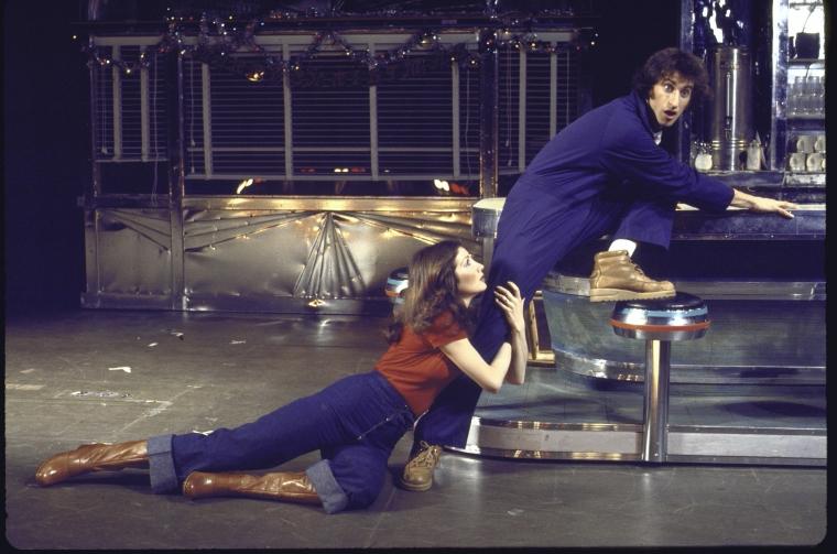 Joanna Gleason & Lenny Baker in  I Love My Wife  [Photo: Martha Swope]