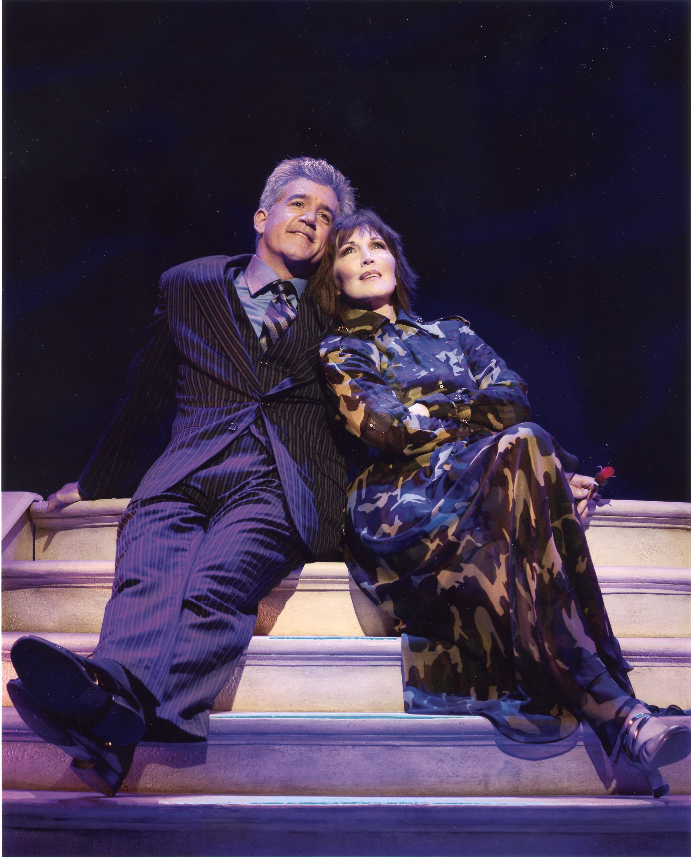 Gregory Jbara & Joanna Gleason in Dirty Rotten Scoundrels [Photo:Craig Schwartz]
