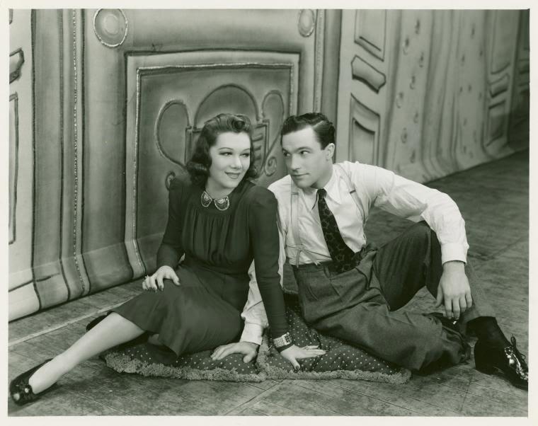 Vivienne Segal and Gene Kelly