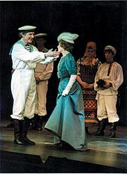 Robert Preston and Neva Small