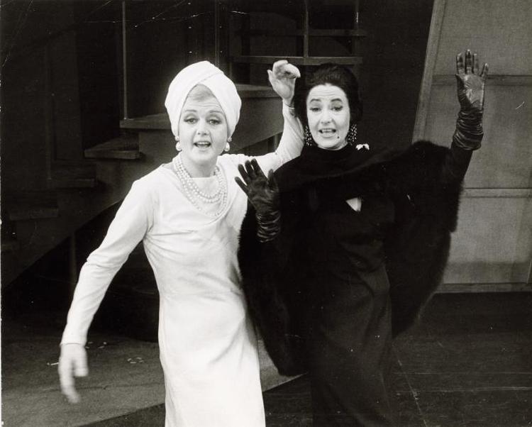 Angela Lansbury and Beatrice Arthur