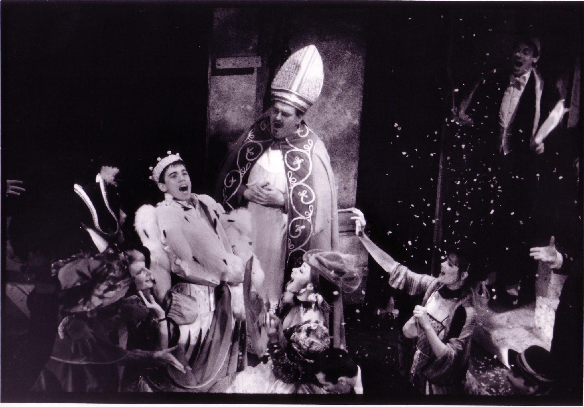 Robbie Benson (Johnny), Michael McCarty (Bishop) Coronation – Westport Playhouse