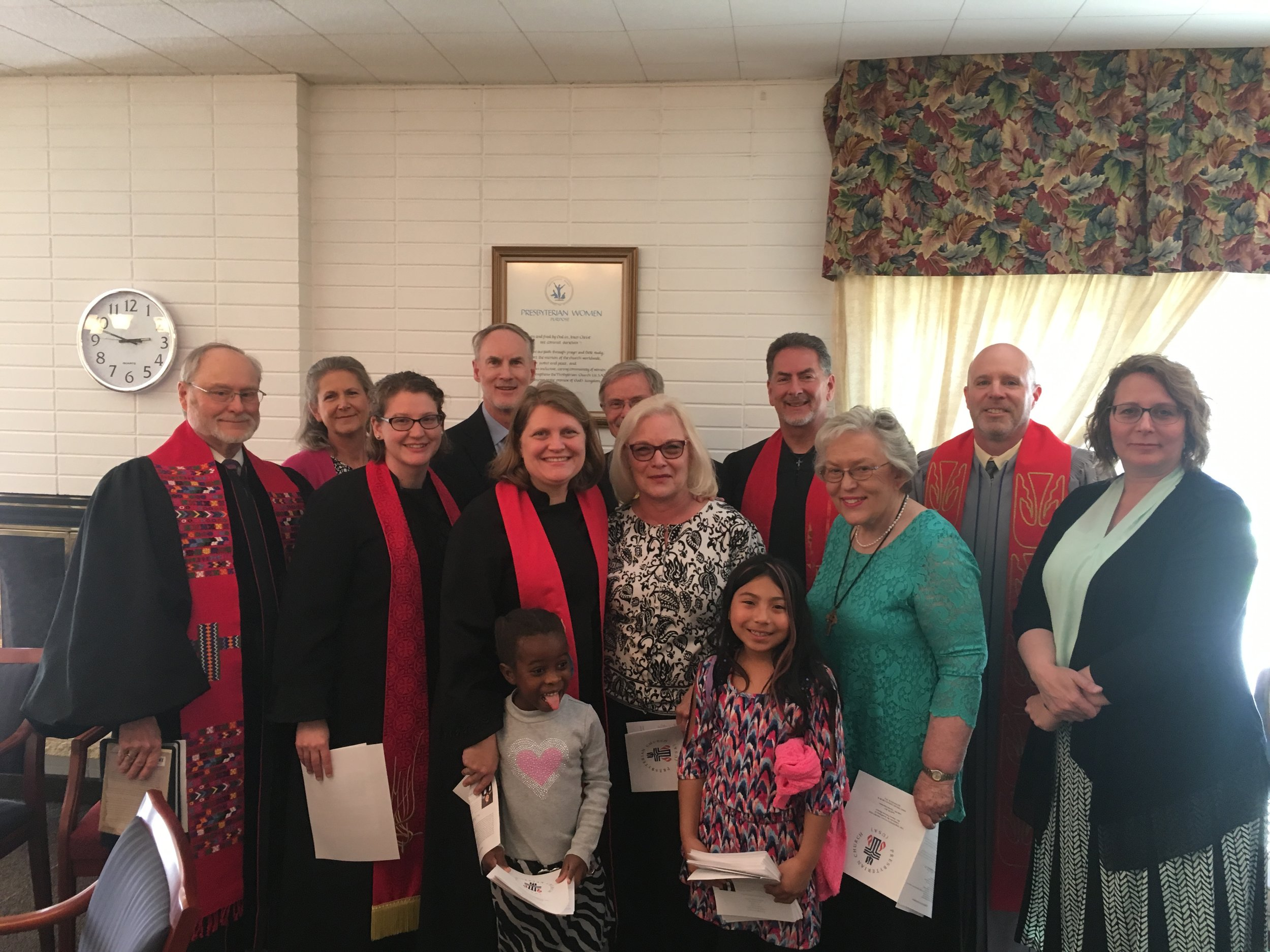 Installation Commission for Rev. Hanna Peterson-Shearer
