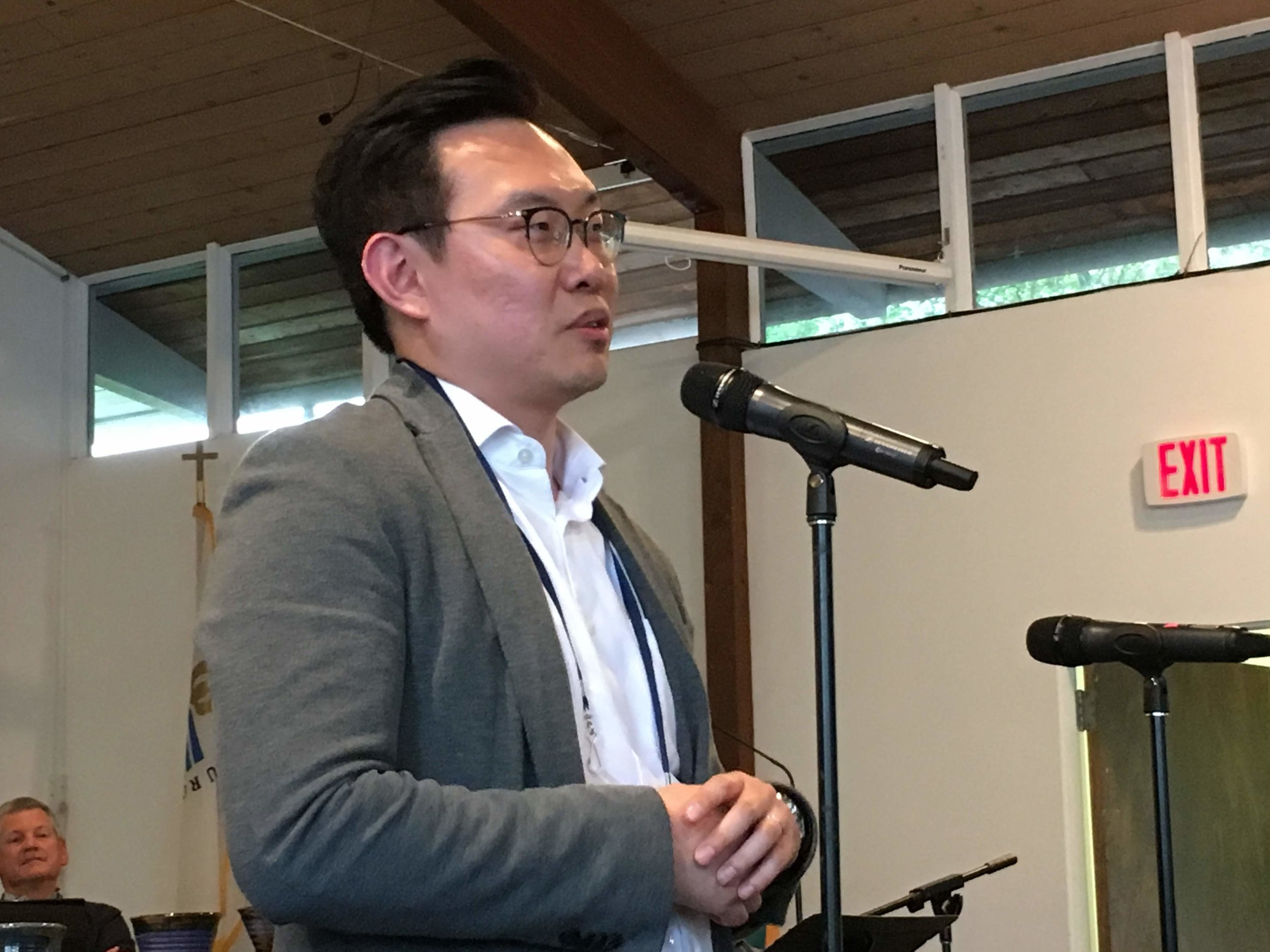 Welcome to NWC Presbytery, Rev. Joshua Hyunsoo Nam (Community Church of Seattle)!