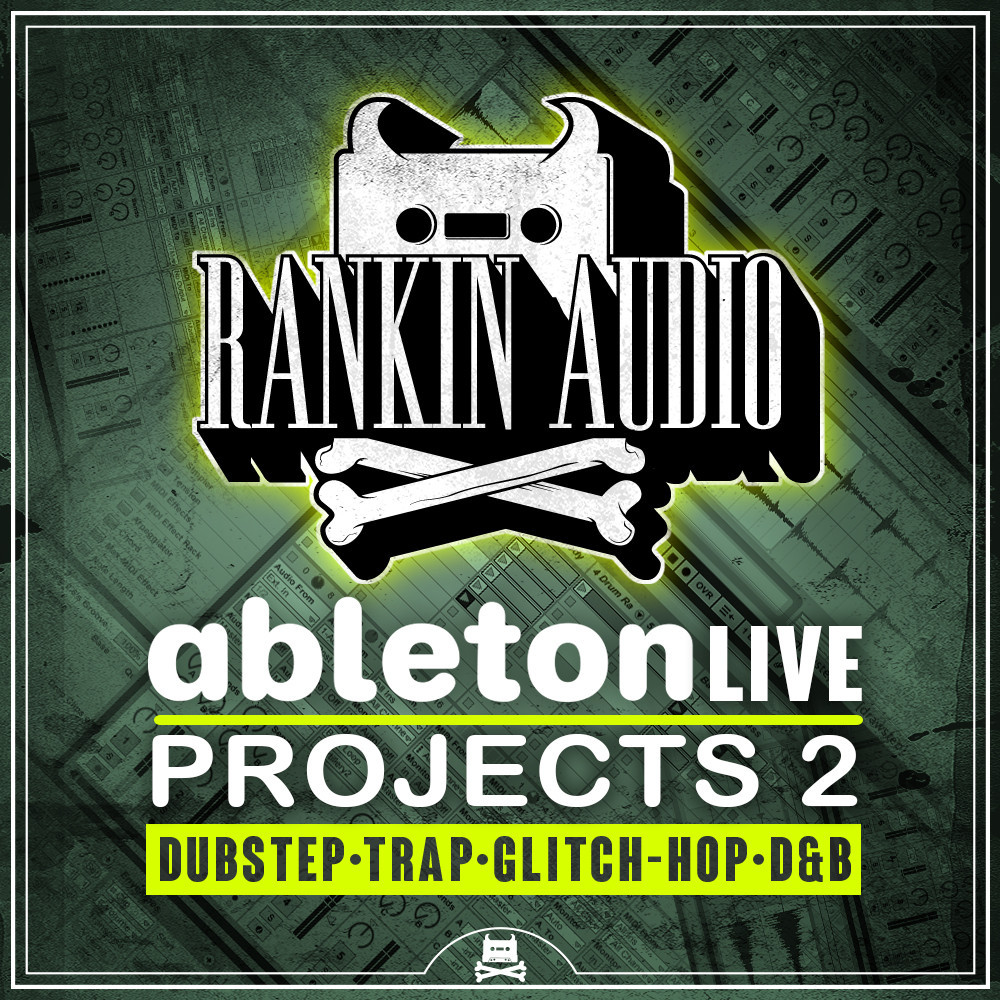 Ableton Live Projects 2: This is a pack of project files that I created for Ableton Live 8, released by Rankin Audio. I wrote the tracks and designed all synth patches and samples.
