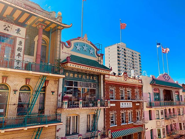 IMO: Our street, Waverly Place is much more interesting than the Painted Ladies