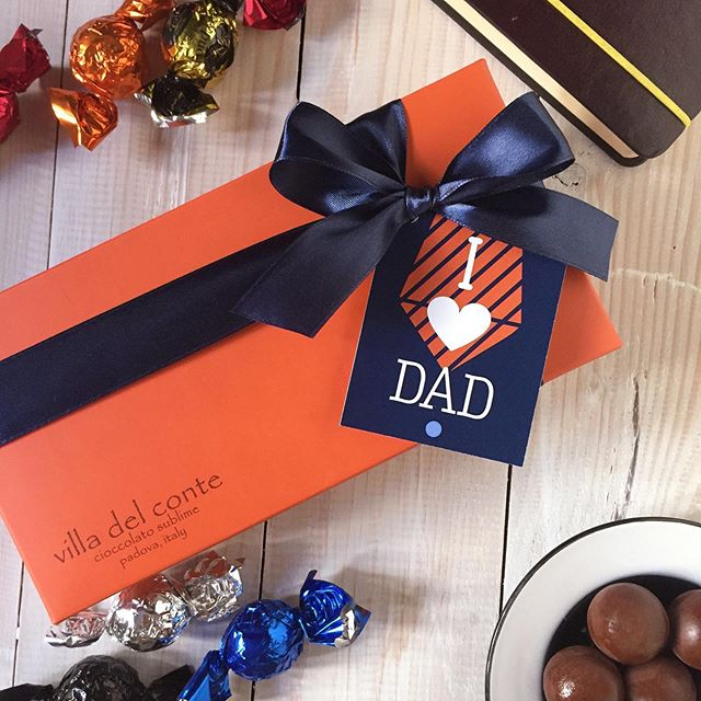 Father's Day is just around the corner, why not get Dad something different on his special day. 🍫🍫🍫 #fathersday #happyfathersday #fathersdaygift #chocolate #chocolates #italianchocolate #madeinitaly #villadelconte #villadelcontechocolates #sweets #sweettreats