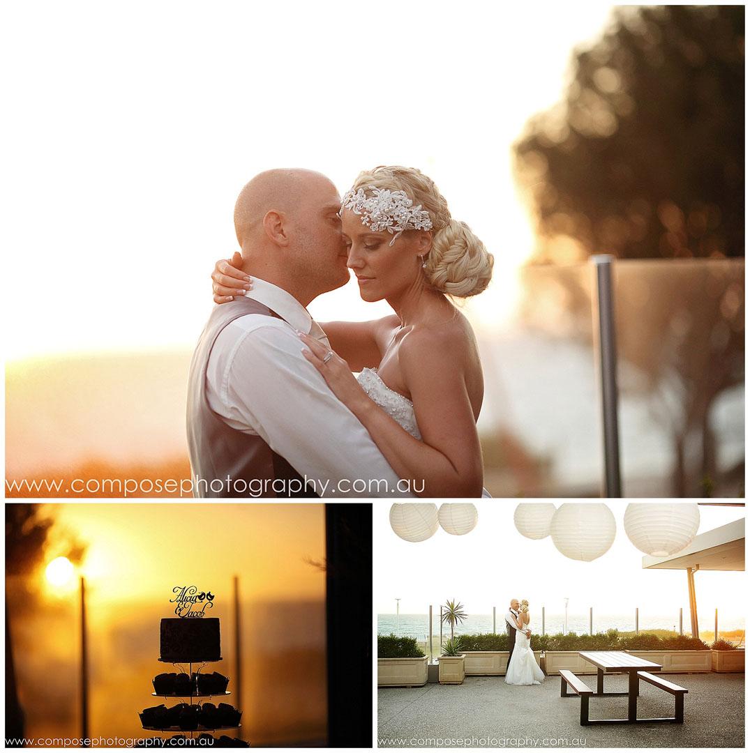 Beach wedding in Perth
