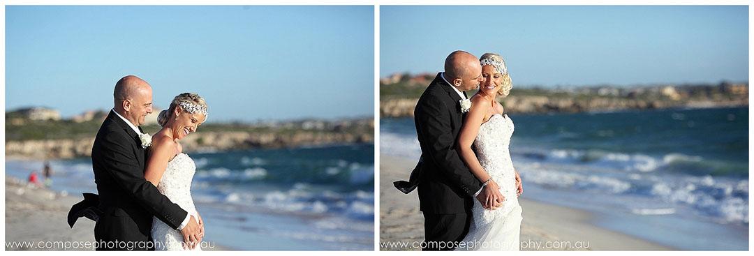 beach wedding mindarie